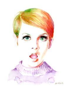 Twiggy Watercolor
